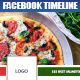 Facebook Restaurant Timeline Cover - GraphicRiver Item for Sale