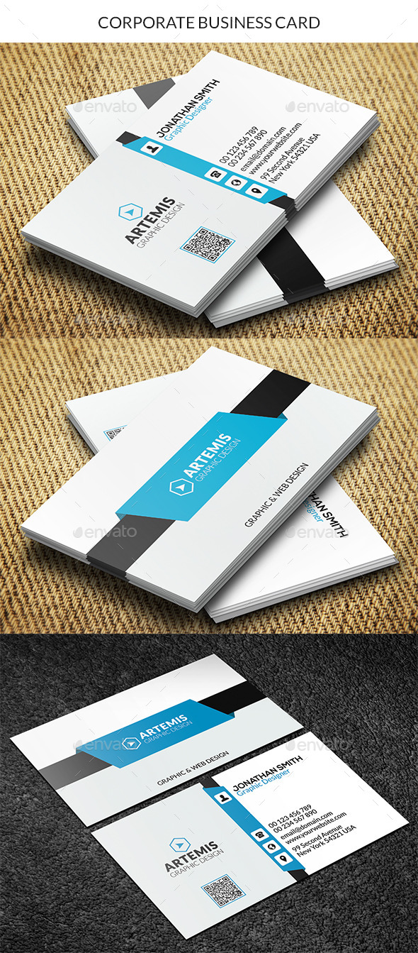 GraphicRiver Corporate Business Card 8928181