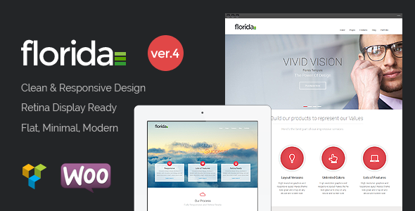 Florida - Premium Multipurpose Responsive Theme - Business Corporate