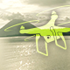 Flight Towards Volcano - VideoHive Item for Sale