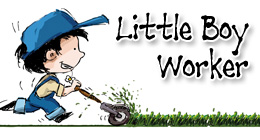 Little Boy Worker
