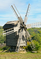 wooden windmill against the blue sky - PhotoDune Item for Sale