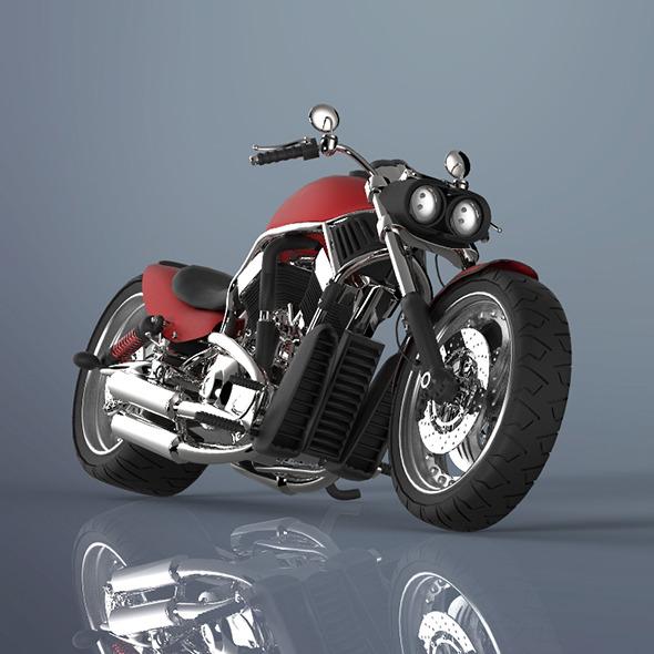 Moter bike - 3DOcean Item for Sale