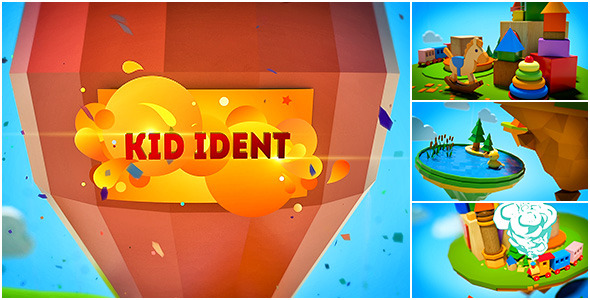 Kid Ident Broadcast Package