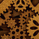 Steampunk Rotation of the Gears - VideoHive Item for Sale