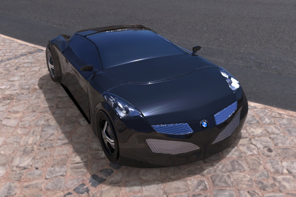 BMW Concept Design - 3DOcean Item for Sale