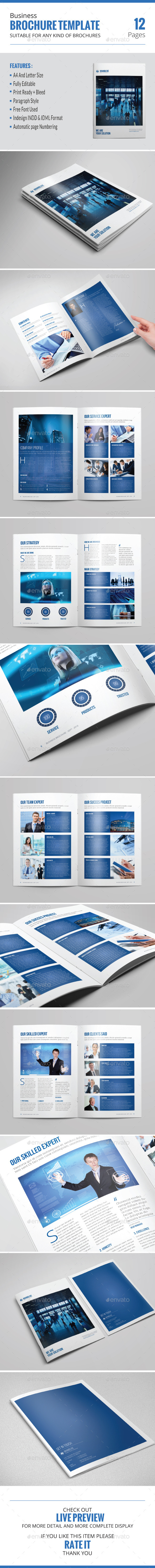 GraphicRiver Business Brochure Template 8928759