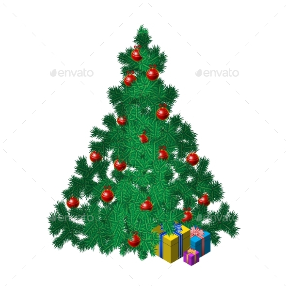 GraphicRiver Christmas Tree 8929002