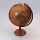 Old Wooden Globe; UV-unwrapped, textured - 3DOcean Item for Sale
