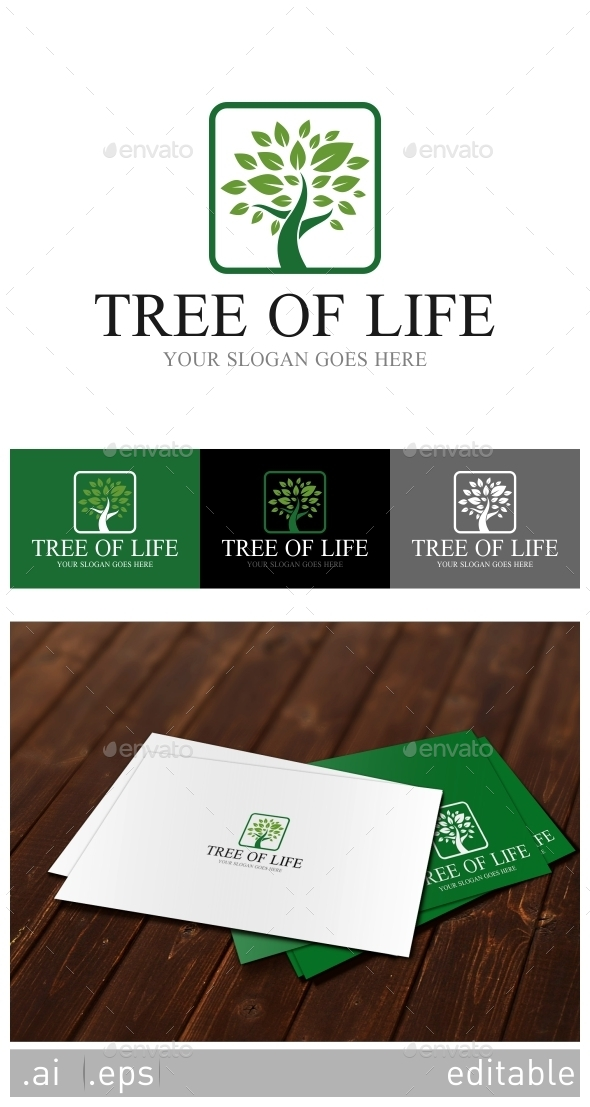GraphicRiver Tree Of Life Logo Template 8929200