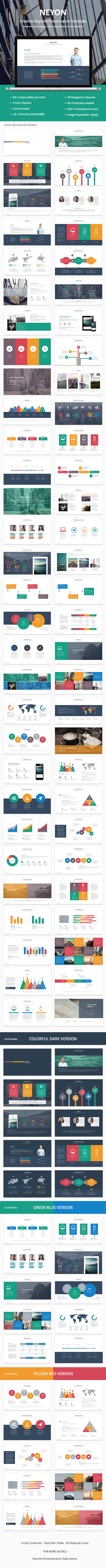 GraphicRiver Neyon Keynote Presentation 8923184