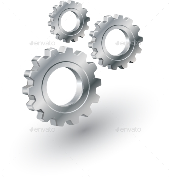 GraphicRiver Gears Sign 8929250