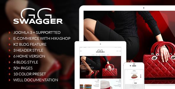 Swagger || Multi-purpose Joomla Templates  - Joomla CMS Themes