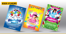 Kids Party Flyers