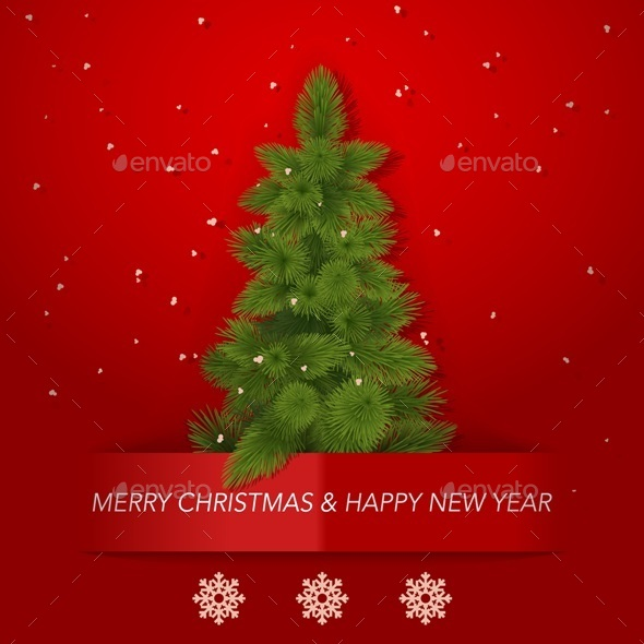 GraphicRiver Vector Christmas Background 8929486