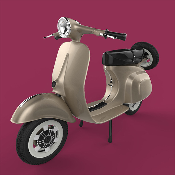 Scooter - 3DOcean Item for Sale