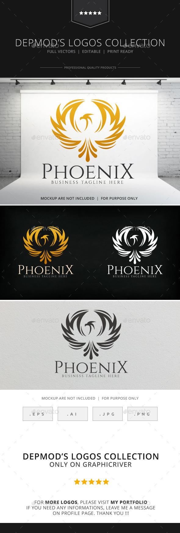 GraphicRiver Phoenix Logo 8930982