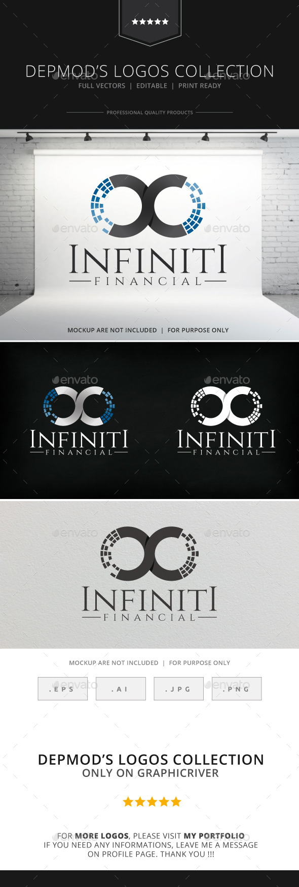 GraphicRiver Infinity Financial Logo 8931022