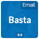 Basta Email Template - GraphicRiver Item for Sale