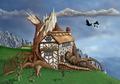 Fantasy Tree House - PhotoDune Item for Sale