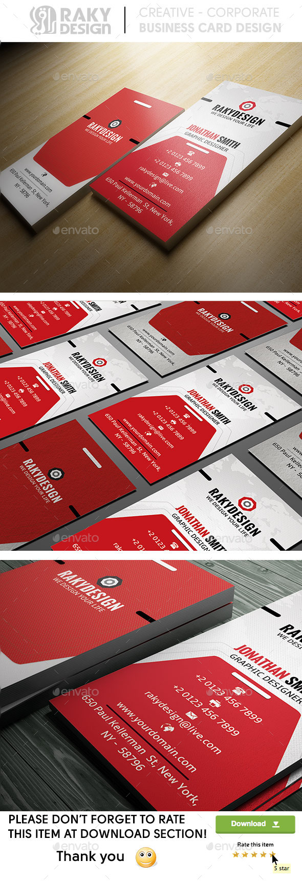 GraphicRiver Modern Business Card 8931941