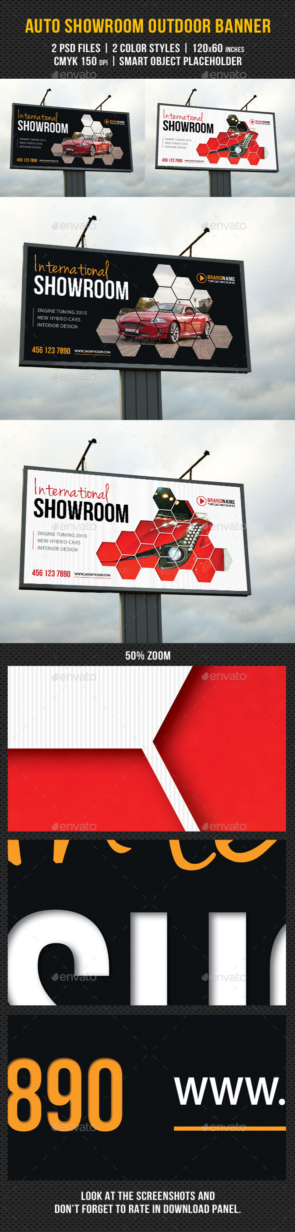 GraphicRiver Auto Showroom Outdoor Banner 03 8932043