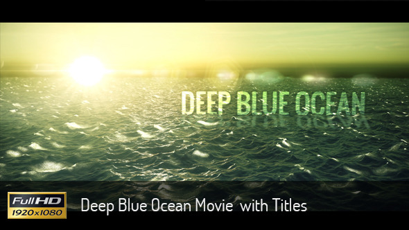 Ocean Movie Titiles