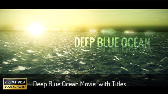 Ocean Movie Titiles (Titles)