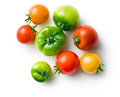 green and red tomatoes - PhotoDune Item for Sale