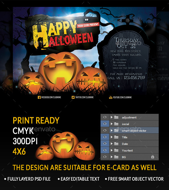 GraphicRiver Halloween 8932250
