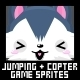 Jumping & Copters Game Sprites - GraphicRiver Item for Sale
