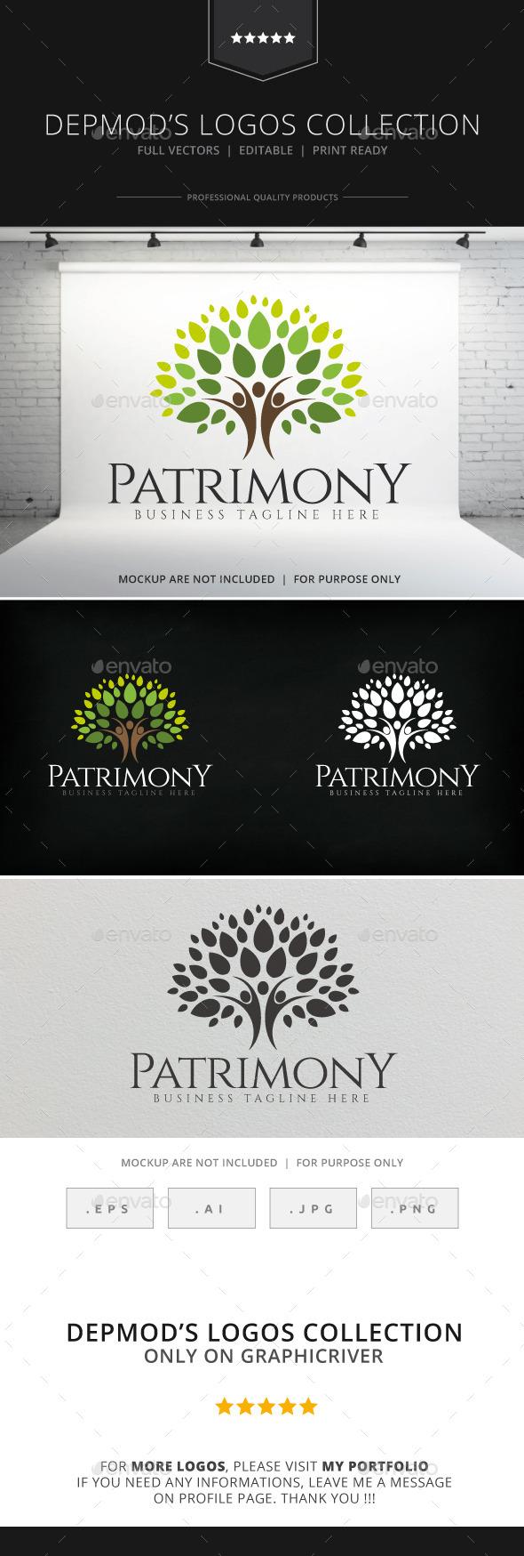 GraphicRiver Patrimony Logo 8932308