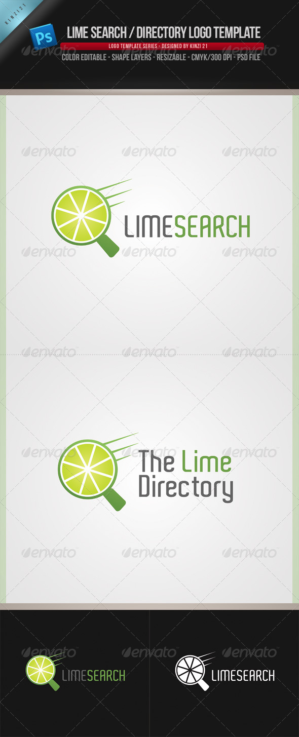 GraphicRiver Lime Logo Template 910393