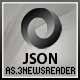 JSON NEWS READER ( AS3 ) - ActiveDen Item for Sale