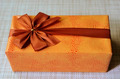 beautifully decorated gift box with bow - PhotoDune Item for Sale