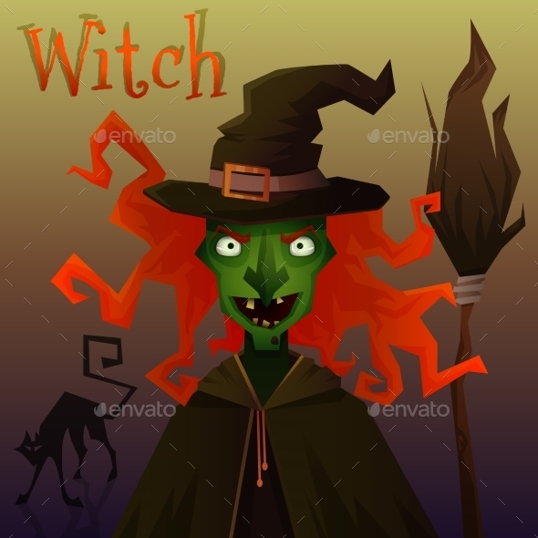 GraphicRiver Evil Witch 8932630