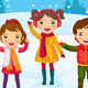 Kids Have Fun the Weekend Before Christmas - GraphicRiver Item for Sale