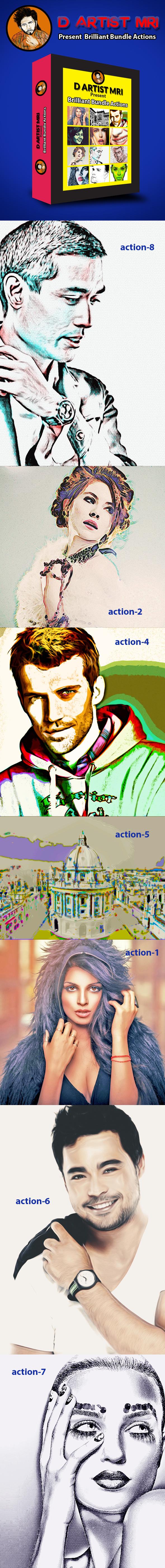 GraphicRiver Brilliant Bundle Actions 8933043