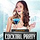 Cocktail Party Flyer Template - GraphicRiver Item for Sale