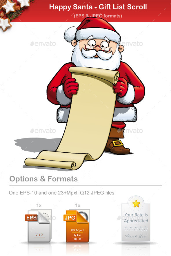 GraphicRiver Happy Santa Big Gift 8933646