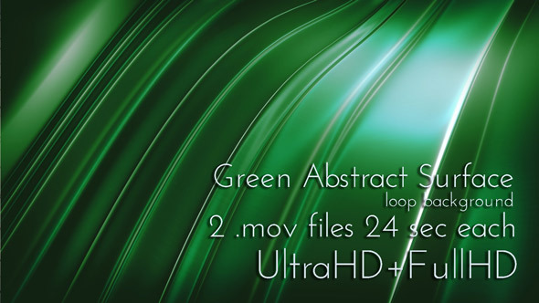 Green Abstract Techno Surface