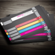 Multi Colour Business Card - GraphicRiver Item for Sale