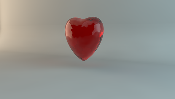 3DOcean Glass Heart Pack 8933888