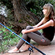 Girl Fishing - VideoHive Item for Sale