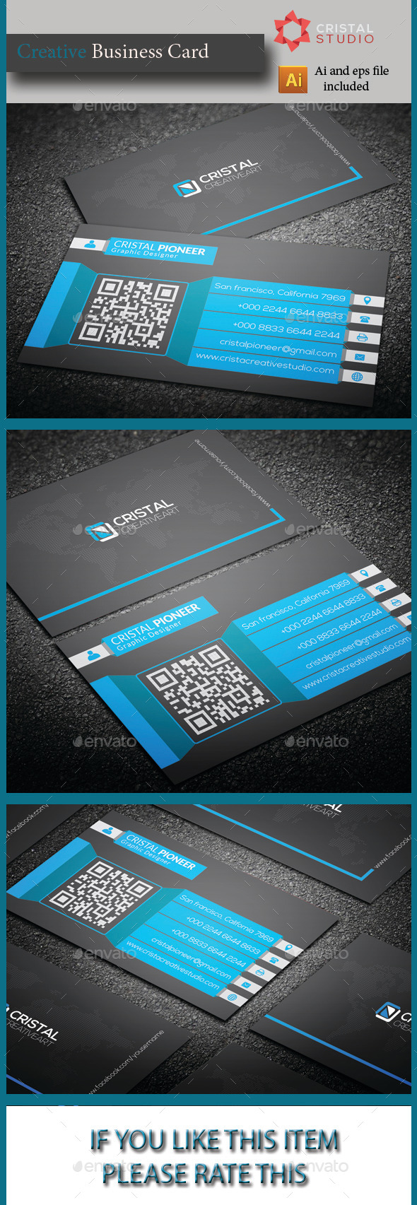 GraphicRiver Creative Business Card 8933930