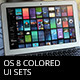 OS 8 Colored UI Sets - GraphicRiver Item for Sale