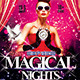 Magical Nights Party Flyer - GraphicRiver Item for Sale