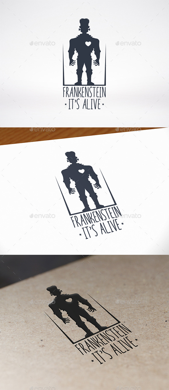 GraphicRiver Frankenstein Logo Template 8934716