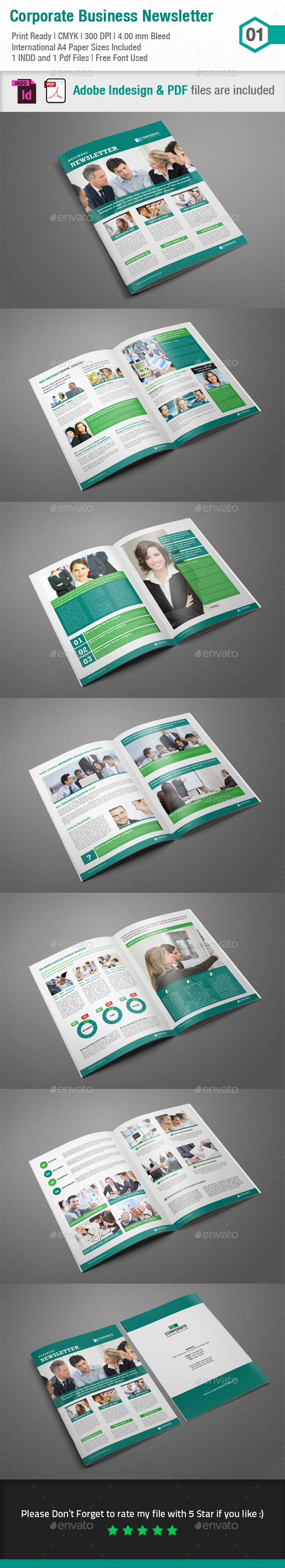 GraphicRiver Business Newsletter 01 8924552