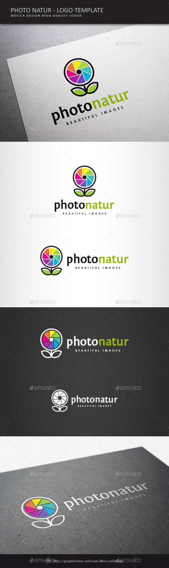 GraphicRiver Photo Natur Logo 8934821